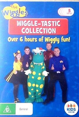 The Wiggles Wiggle-Tastic Collection 5 DVD Box Set New & Sealed