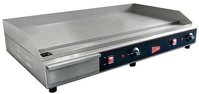 "Gmcw Commercial 36"" Electric Griddle Counter Top Flat Grill - El1636"