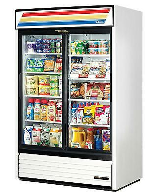 True 45 Cu.ft Merchandiser Cooler w/ 2 Sliding Glass Doors - GDM-45-LD