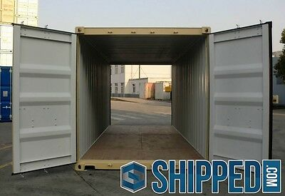 20ft NEW DOUBLE DOOR (TUNNEL) CERTIFIED SHIPPING CONTAINER in Minneapolis, MN