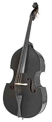Brand New Stentor 3/4 Size Rockabilly Double Bass with Gig Bag & Bow in Black!