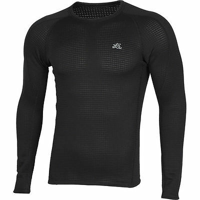 """Top Thermal Underwear Base Layer Shirt L/S """"Active"""" Polartec® Power Grid™ M3"""