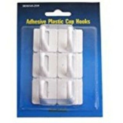 MINTCRAFT PH-122299 Adhesive Plastic Cup Hook
