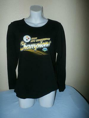 Pittsburgh Steelers  Nfl For Her  Ladies Tee     Size Med   New   Free Shipping