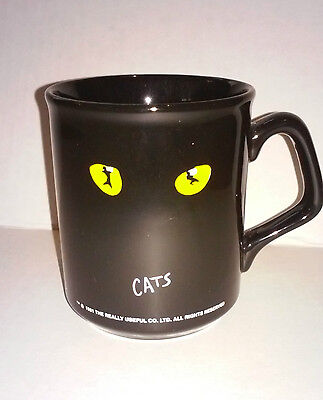 Vintage 1981 CATS The Broadway Musical YELLOW Cat Eyes - Excellent Condition!