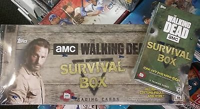 The Walking Dead Survival Box Hobby New Factory Sealed 2016 Topps