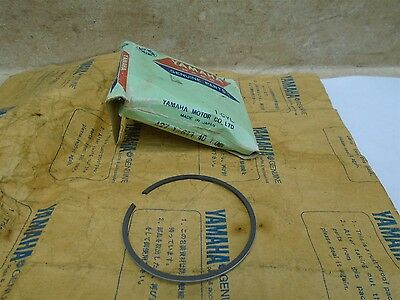 Yamaha 125 DT DT125-A B New OEM 4th Oversize 1.00 Piston Ring  #