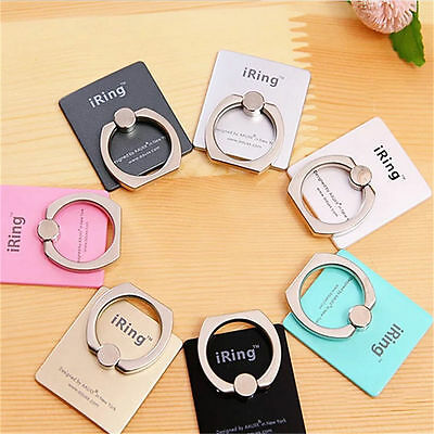 Universal 360° Finger Ring Metal Grip Stand Holder for Cell Mobile Phone