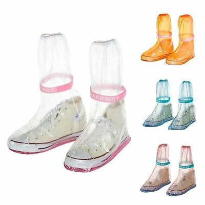 Waterproof Reusable Motorcycle Bike Shoe Cover Anti-slip Rain Boot Overshoe