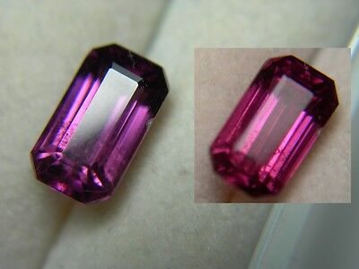 rare Grape Garnet color change gem Pyrope Purple Pink Magenta Tanzania 2.18ct em