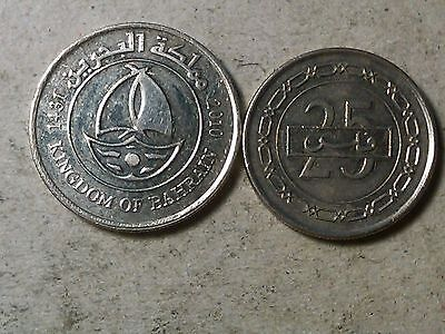 Bahrain lot of 25 and 50 fils  Ship