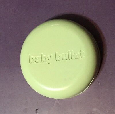Baby Bullet Food Processor Blender Parts Replacement Individual Serving Cup Lid