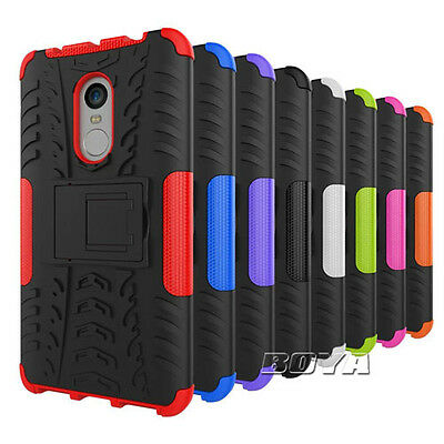 Shockproof Hybrid Case For Various Xiaomi Phones Hard Rugged Armor Stand Cover