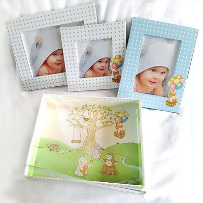 Newborn Infant Picture Photo Frames Set  Christening Baptism Mocking Baby