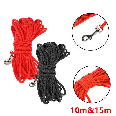 15M Dog Cat Lead Leash Training Long Line Recall Walking Obedience Hunting