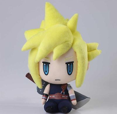 Officially Licensed Final Fantasy VII Cloud Strife 10 inch Plush