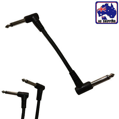 Right Angle Electric Guitar Effects Pedal Patch Cable Lead Cord Line SMUC46515