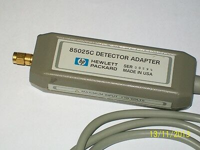 AGILENT HEWLETT PACKARD HP 85025C detector adapter Hp8757a scalar analyzer