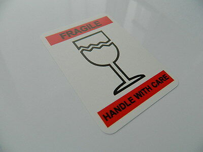 PACKAGING LABELS STICKERS RECTANGULAR 50mmX60mm FRAGILE LABEL THIS WAY UP LABEL