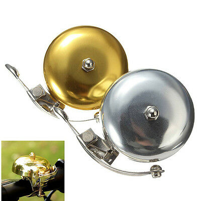 Cycle Push Ride Bike Loud Sound One Touch Bell Vintage Bicycle Handlebar new