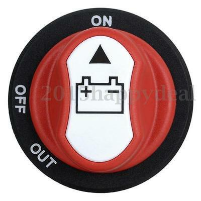 Car Truck VAN Battery Isolator Cut Off Kill Switch SPST MAX 50V 50A On Off Out