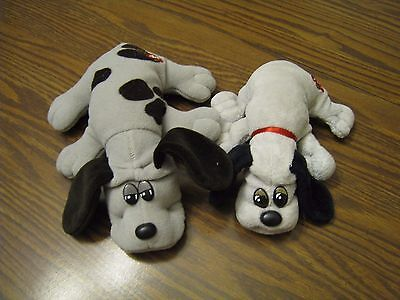 Vintage Pound Puppies GRAY COLORS SET OF 2- BOTH DIFFERENT