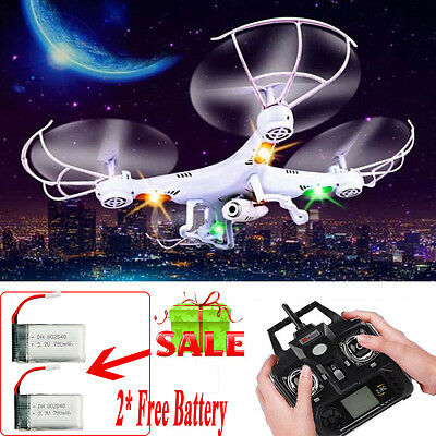 X5C-1 2.4GHz 4CH 6 Axis RC Quadcopter Drone RTF With HD Camera RC Drone+ Battery