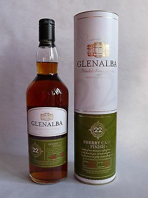 Glenalba Sherry Cask Finish Blended Scotch Whisky 22 Jahre  40% Vol. 1x 0,7L