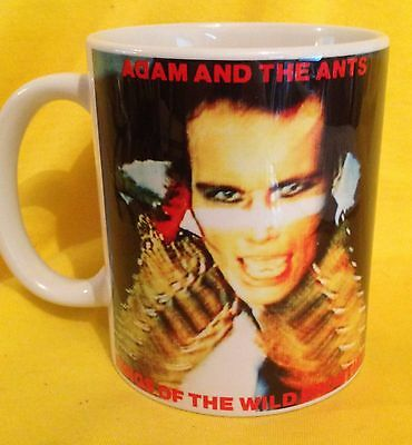 Adam & The Ants Kings Of The Wild Frontiers 1980- Album Cover- On A Mug