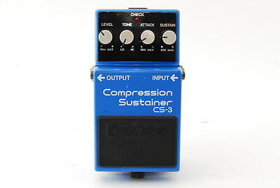 BOSS CS-3 Compression Sustainer Guitar Effect Pedal Black Label made in JAPAN
