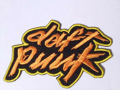 Daft Punk Patch Embroidered Badge Music Logo Costume Cosplay Souvenir Bag Hat
