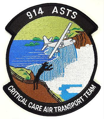 USAF 914th ASTS AIR FORCE SPECIAL TACTICS SQUADRONS PATCH