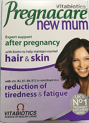 Pregnacare New Mum expert support after pregnancy with biotin to help maintain