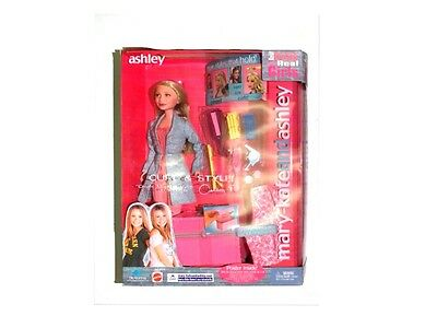 NIB - Vintage 2002 Mary-Kate and Ashley Curl & Style Doll