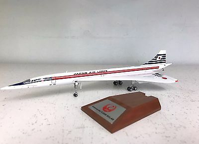 WB 1:200 Concorde Japan Air Lines JA0557 Ref: WBCONC0816 (with stand)