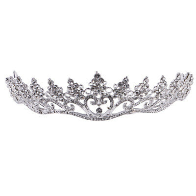 Wedding Bridal Rhinestone Headband Crown Prom Pageant Tiara Hair Jewelry
