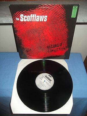 """The Scofflaws """"Record Of Convictions"""" LP V.O.R. GERMANY 1988"""