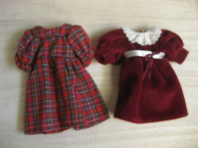8 inch  Madeline Fancy Velvet Dress & Holiday Outfit