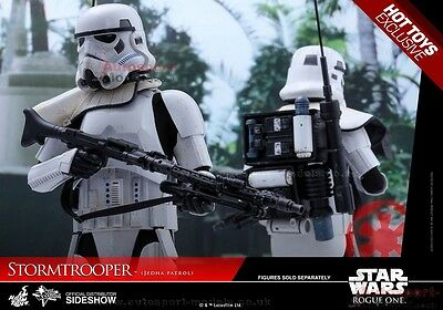 1/6th Star Wars ~ Stormtrooper Jedha Patrol Action Figure ~ Hot Toys ~ Rouge One