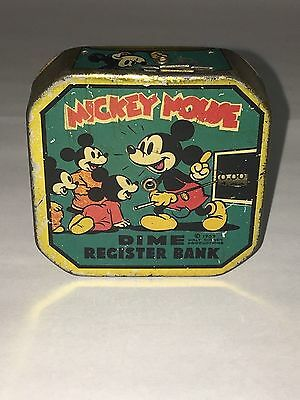 1939 Mickey Mouse Dime Register Bank     506-G