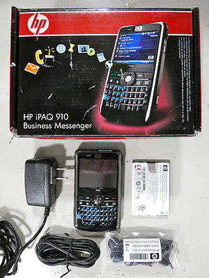 HP iPAQ 910 Business Messenger Smartphone w/Accessories, PDA, FREE SHIPPING!