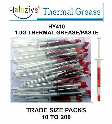 Thermal Paste Compound Grease 1G Syringes Hy410 For Cpu Heatsink,ghd Repairs Etc