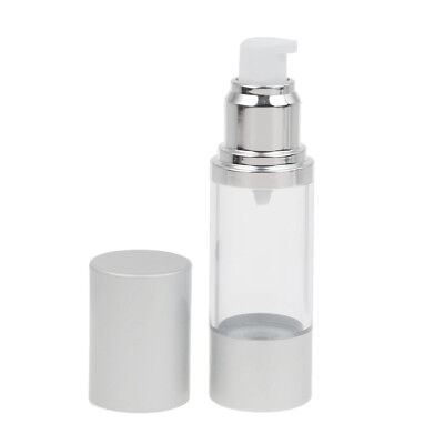 30ml Portable Refillable Empty Airless Lotion Bottle Makeup Liquid Container