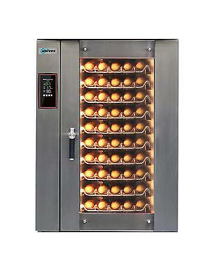 "Univex ECOW10000 Stackable Electric Bakery Oven (10) 26""x18"" Size Tray Cap."