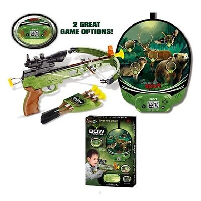Crossbow With Arrows On Suckers With Electronic Targets 881-15 - Free Delivery