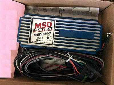 MSD 6M-2 CD Marine Ignition 6460 6M-2, 55E5, 6460, Pulse amplifier box