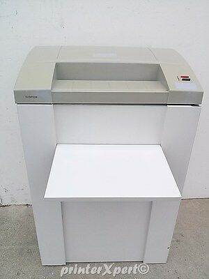 Martin Yale Olympia 1600 High Speed Office Strip Cut Paper Shredder 671-6s