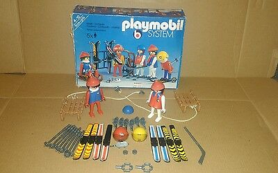 playmobil system winter sports vintage collectable
