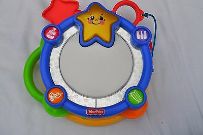 Fisher Price Sparkling Symphony Classic Chorus Drum Set Baby Toddler Musical Toy