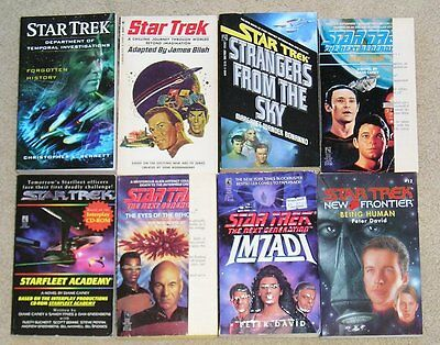 Star Trek SF Books - CHOOSE / SELECT Lot of any 3pbs for $3.75